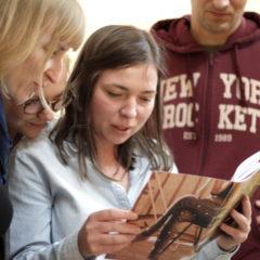8H books, warsztaty w BWA Ostrowiec