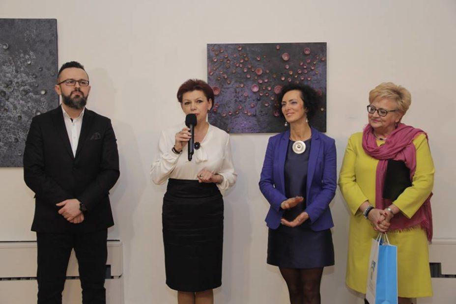 Lucyna Gozdek Szklane aberracje wystawa wernisaż