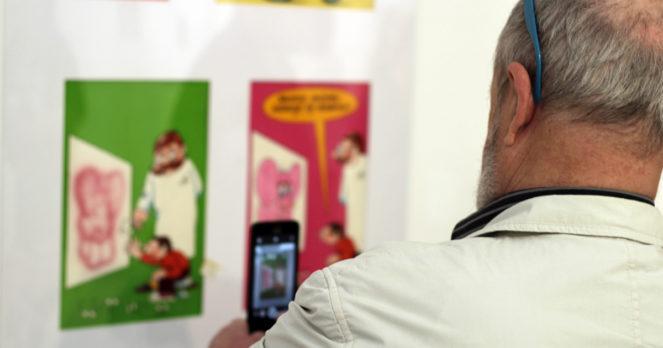 Polska ilustracja dziecięca, wystawa w BWA Ostrowiec